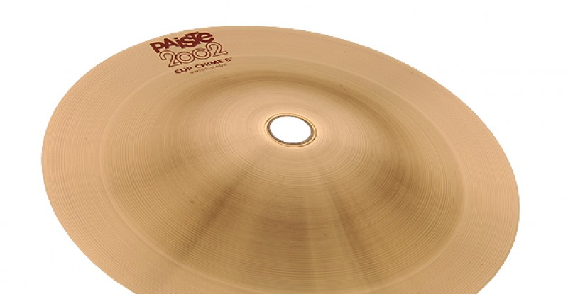 Paiste 2002 Cup Chime 5″ 5.5″ 6″ 6.5″ 7″ 7.5″ 8″