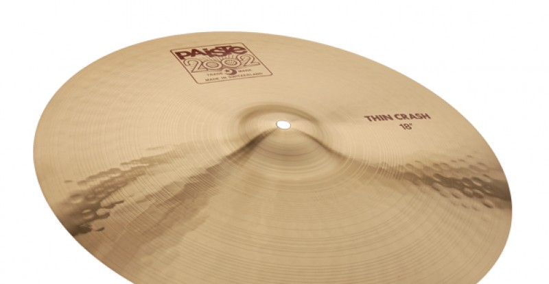 Paiste 2002 Thin Crash 16″ 17″ 18″ 19″