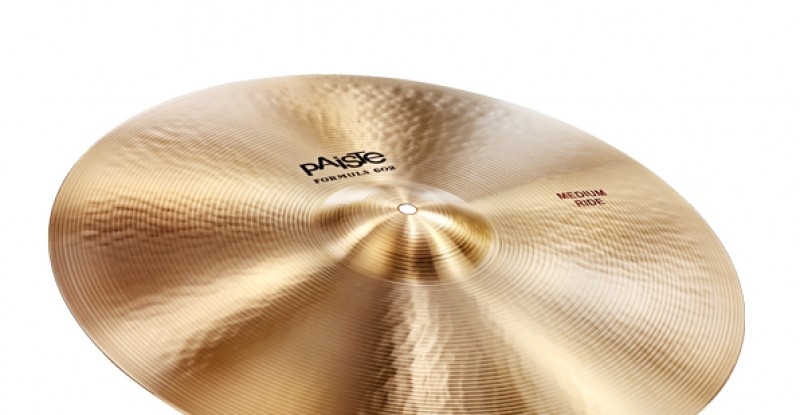 Paiste Formula 602 Classic Sounds Medium Ride 20″ 22″ 24″