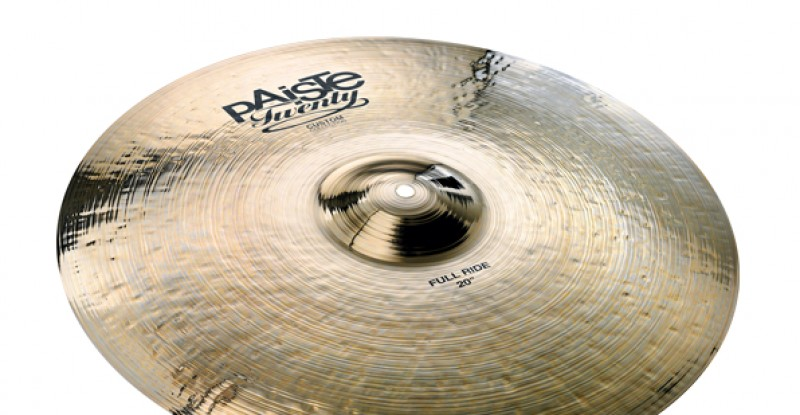 Paiste Twenty Custom Collection Full Ride 20″ 22″