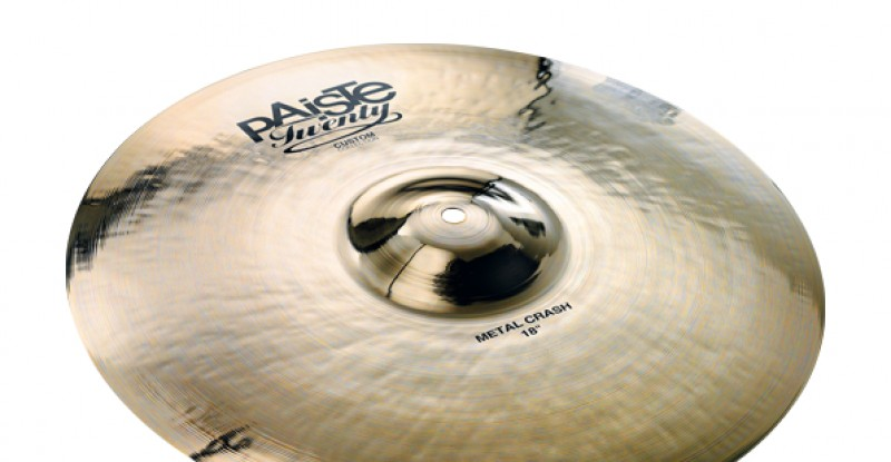 Paiste Twenty Custom Collection Metal Crash 18″ 19″ 20″