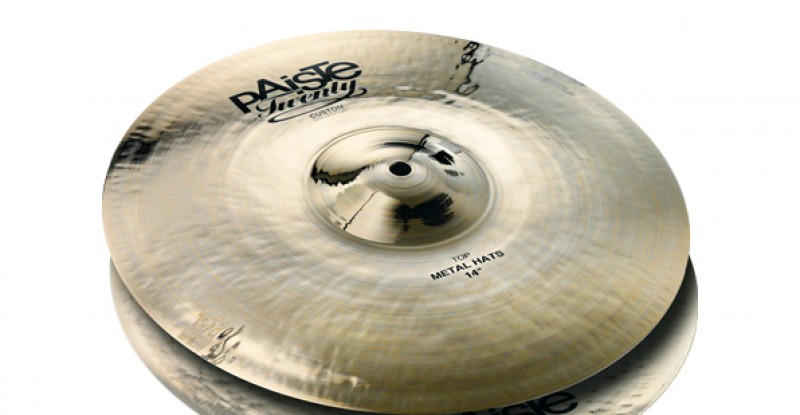 Paiste Twenty Custom Collection Metal Hats 14″ 15″