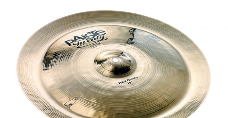 Paiste Twenty Custom Collection Thin China 18″
