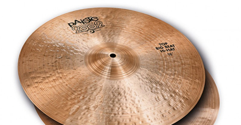 Paiste 2002 Black Big Beat Hi-Hat 15″ 16″