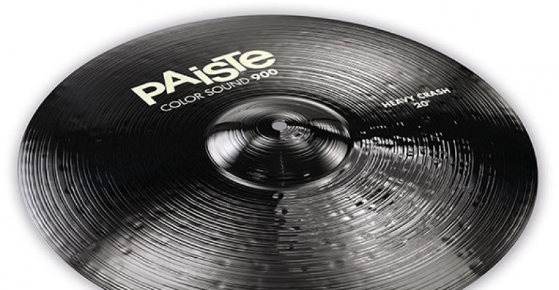 Paiste Color Sound 900 Black Heavy Crash 16″ 17″ 18″ 19″ 20″