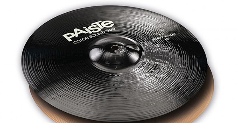 Paiste Color Sound 900 Black Heavy Hi-Hat 14″ 15″