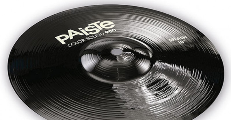 Paiste Color Sound 900 Black Splash 10″ 12″
