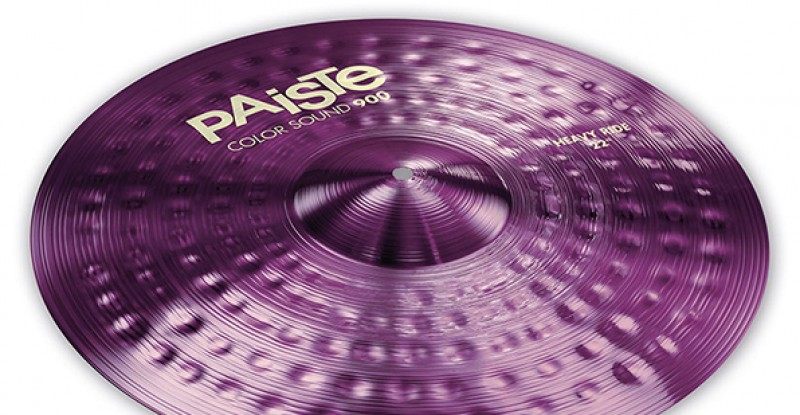 Paiste Color Sound 900 Purple Heavy Ride 20″ 22″