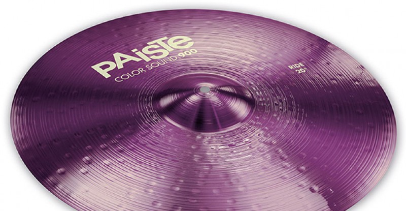 Paiste Color Sound 900 Purple Ride 20″ 22″