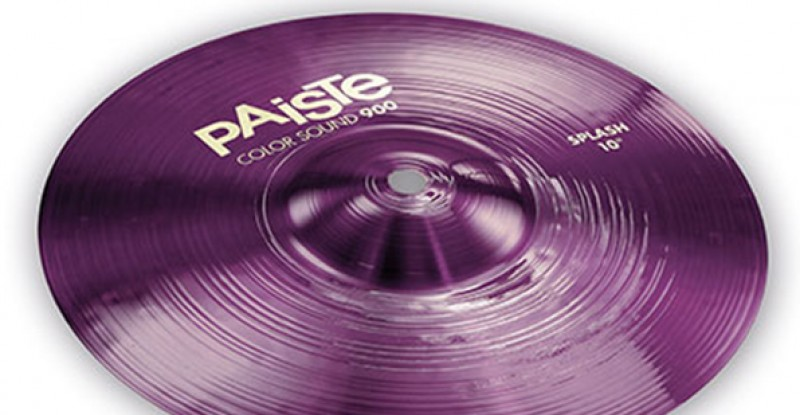 Paiste Color Sound 900 Purple Splash 10″ 12″