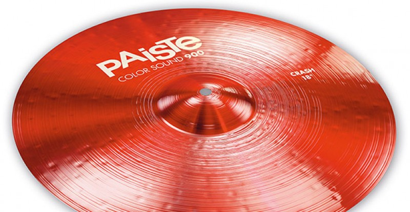 Paiste Color Sound 900 Red Crash 16″ 17″ 18″ 19″ 20″