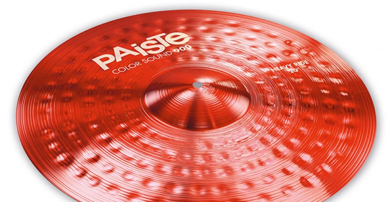 Paiste Color Sound 900 Red Heavy Ride 20″ 22″