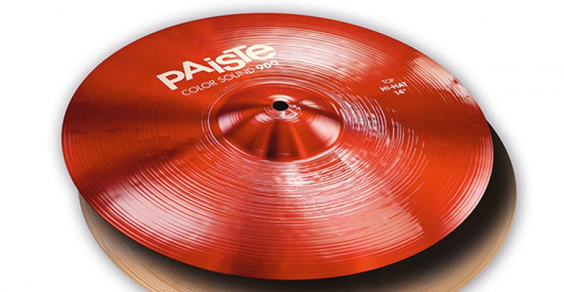 Paiste Color Sound 900 Red Hi-Hat 14″