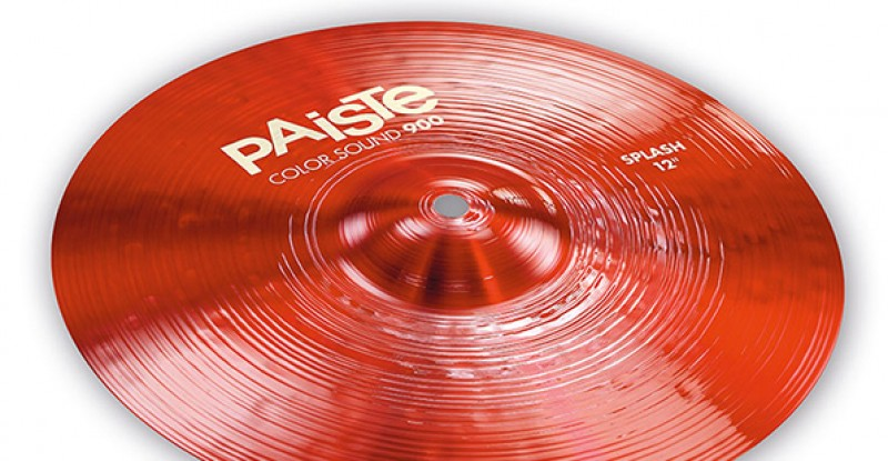Paiste Color Sound 900 Red Splash 10″ 12″