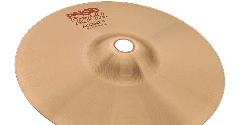 Paiste 2002 Accent Cymbal 4″ 6″ 8″
