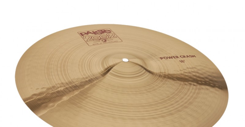 Paiste 2002 Power Crash 16″ 17″ 18″ 19″ 20″