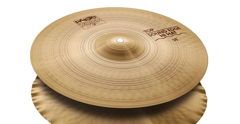 Paiste 2002 Sound Edge Hi-Hat 13″ 14″ 15″ 17″