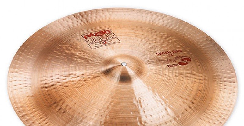 Paiste 2002 Swish Ride 24″ John Jr Robinson