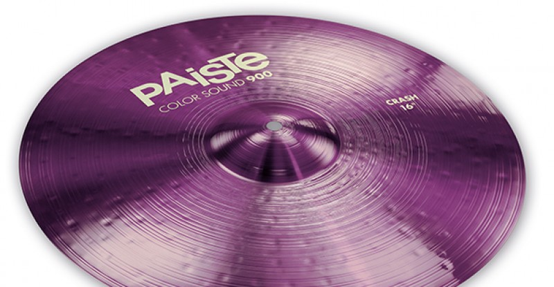 Paiste Color Sound 900 Purple Crash 16″ 17″ 18″ 19″ 20″