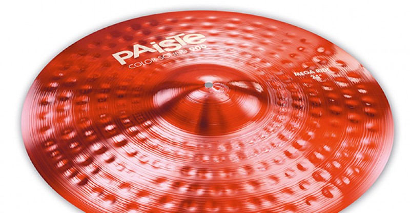 Paiste Color Sound 900 Red Mega Ride 24″