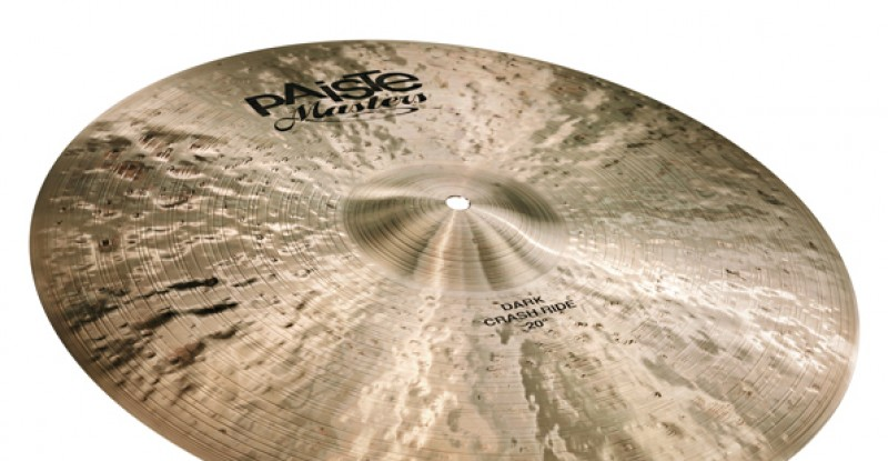 Paiste Masters Dark Crash Ride 20″ 22″