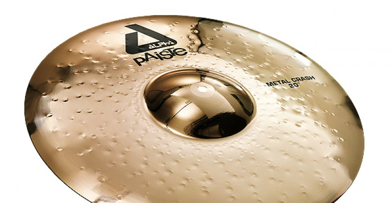 Paiste Alpha Metal Crash 17″ 18″ 20″