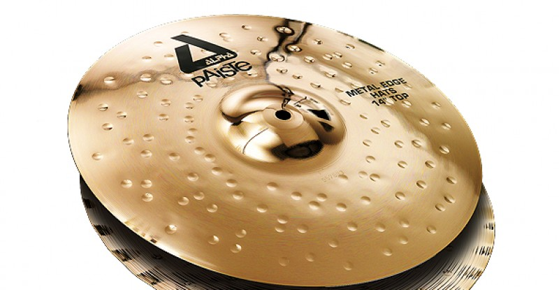 Paiste Alpha Metal Edge Hats 14″