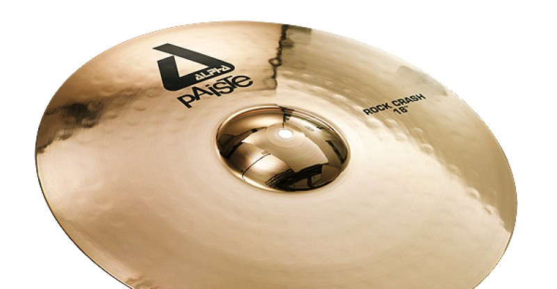 Paiste Alpha Rock Crash 16″ 17″ 18″ 20″