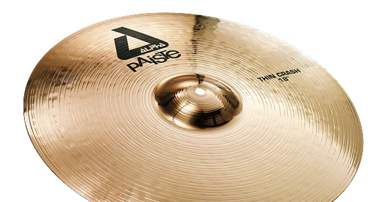 Paiste Alpha Thin Crash 16″ 18″