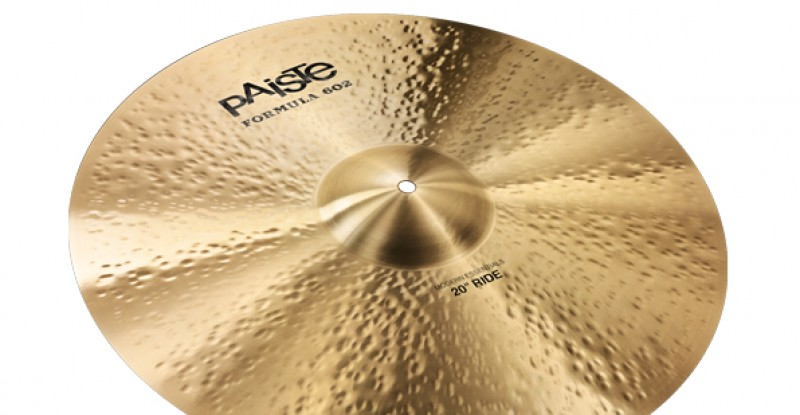 Paiste Formula 602 Modern Essentials Ride 20″ 22″ 24″