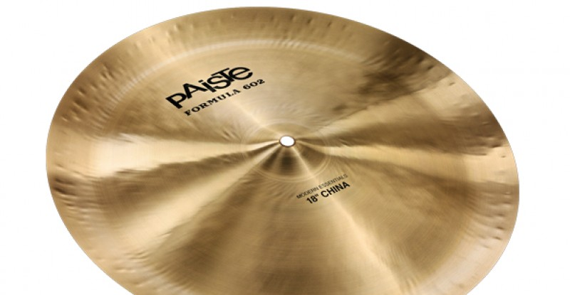 Paiste Formula 602 Modern Essentials China 18″ 22″