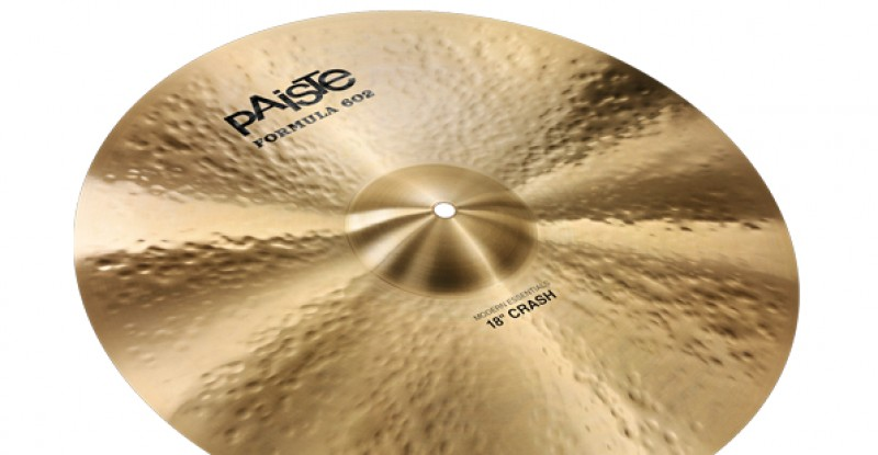Paiste Formula 602 Modern Essentials Crash 16″ 17″ 18″ 19″ 20″ 22″