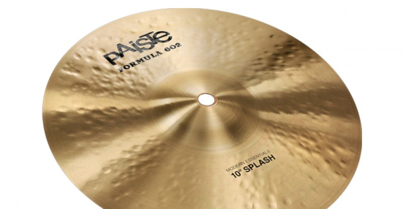 Paiste Formula 602 Modern Essentials Splash 8″ 10″