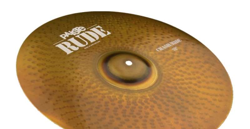 Paiste RUDE Ride/Crash 20″ 22″