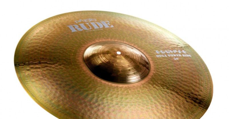 Paiste RUDE Mega Power Ride 24″