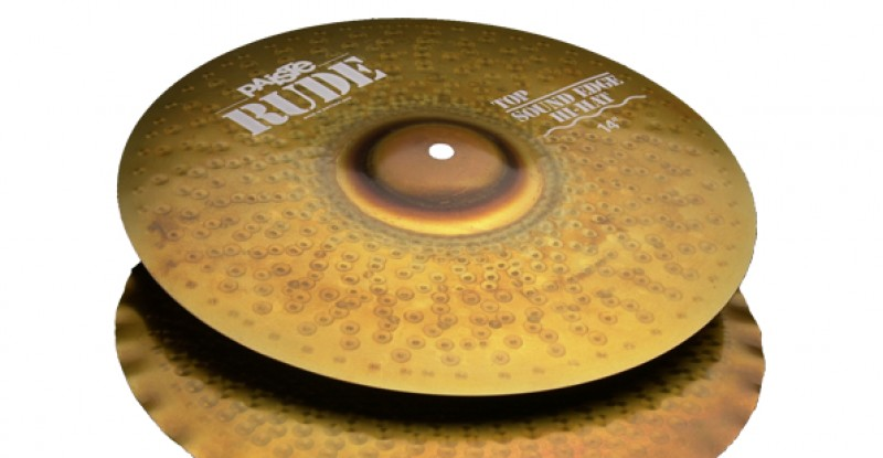 Paiste RUDE Sound Edge Hi-Hat 14″