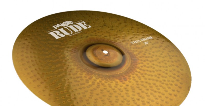 Paiste RUDE Thin Crash 16″ 17″ 18″ 19″ 20″