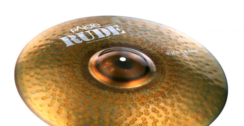 Paiste RUDE Wild Crash 17″ 18″ 19″