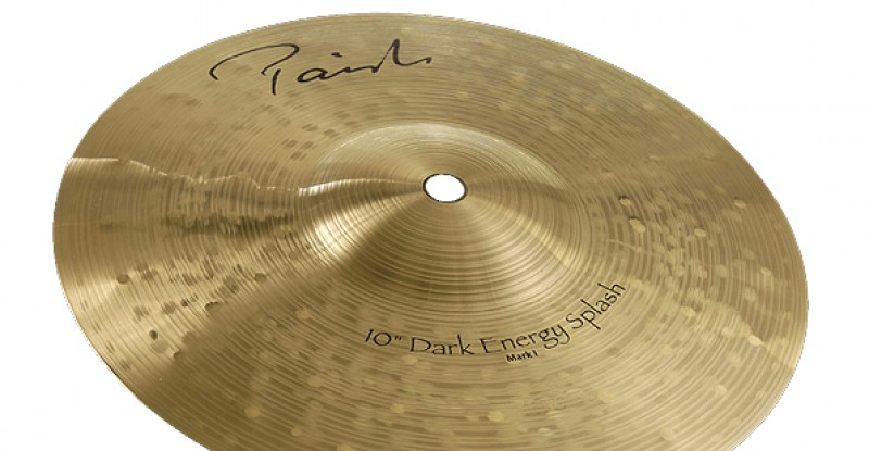 Paiste Signature Dark Energy Splash Mark I 8″ 10″