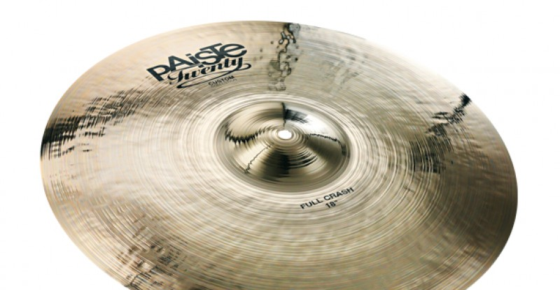 Paiste Twenty Custom Collection Full Crash 16″ 18″ 20″