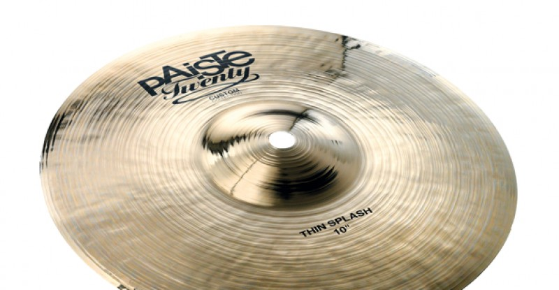 Paiste Twenty Custom Collection Thin Splash 10″
