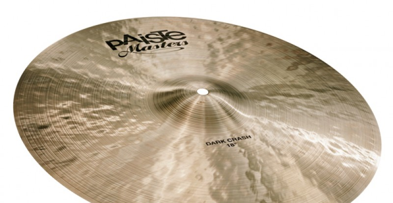 Paiste Masters Dark Crash 16″ 17″ 18″ 19″ 20″
