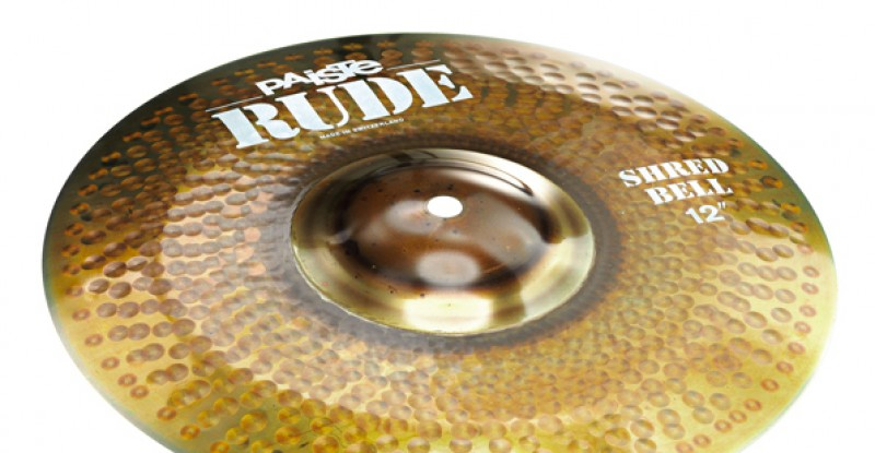 Paiste RUDE Shred Bell 12″ 14″