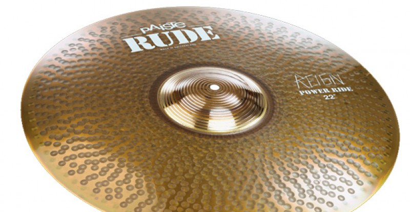 Paiste RUDE Power Ride The Reign 22″