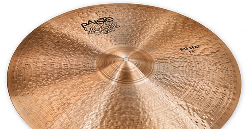 Paiste 2002 Black Big Beat 18″ 19″ 20″ 21″ 22″ 24″