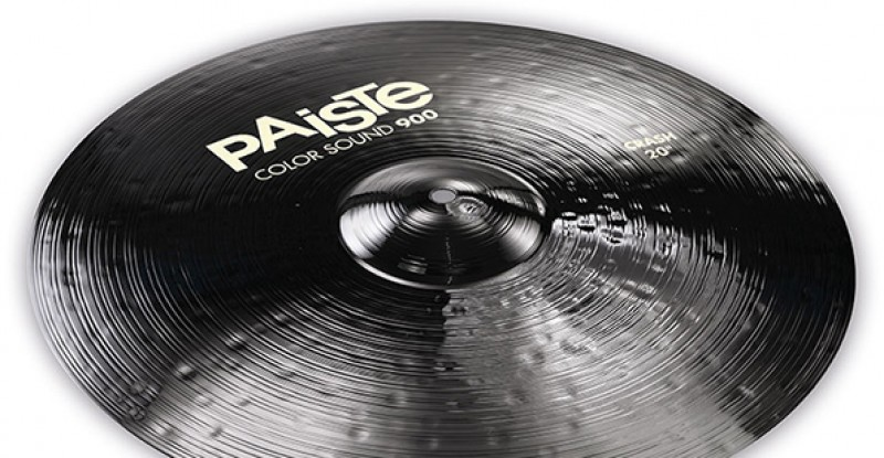 Paiste Color Sound 900 Black Crash 16″ 17″ 18″ 19″ 20″