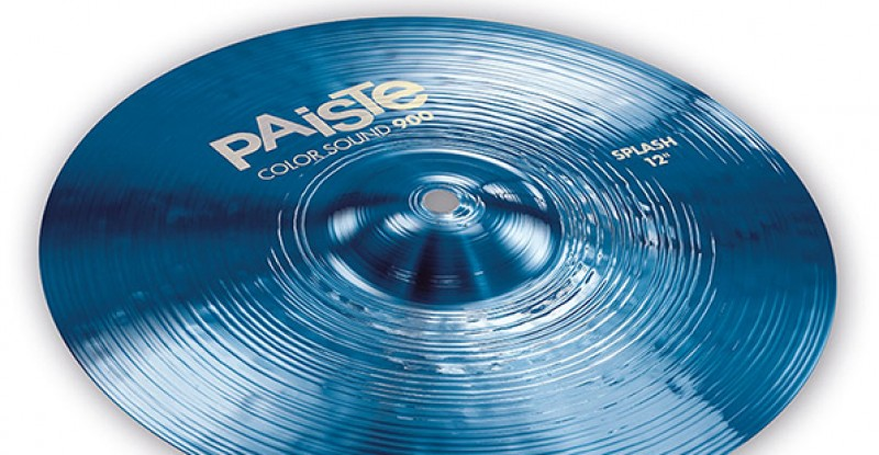Paiste Color Sound 900 Blue Splash 10″ 12″