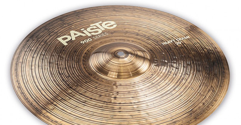 Paiste Série 900 Heavy Crash 16″ 17″ 18″ 19″ 20″