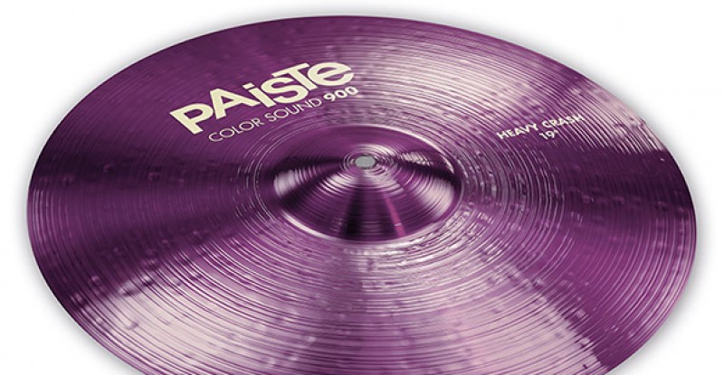 Paiste Color Sound 900 Purple Heavy Crash 16″ 17″ 18″ 19″ 20″