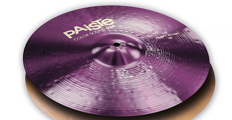 Paiste Color Sound 900 Purple Heavy Hi-Hat 14″ 15″